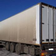 Ремонт задней рамки и задних дверей фургона полуприцепа — Транс-Мороз 2