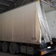Ремонт задней рамки и задних дверей фургона полуприцепа — Транс-Мороз 3
