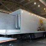 Ремонт изотермических фургонов грузовых автомобилей и полуприцепов, пострадавших в ДТП