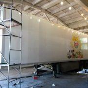 Ремонт изотермических фургонов грузовых автомобилей и полуприцепов, пострадавших в ДТП — Транс-Мороз 2