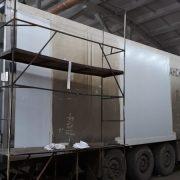 Ремонт изотермических фургонов грузовых автомобилей и полуприцепов, пострадавших в ДТП — Транс-Мороз 3