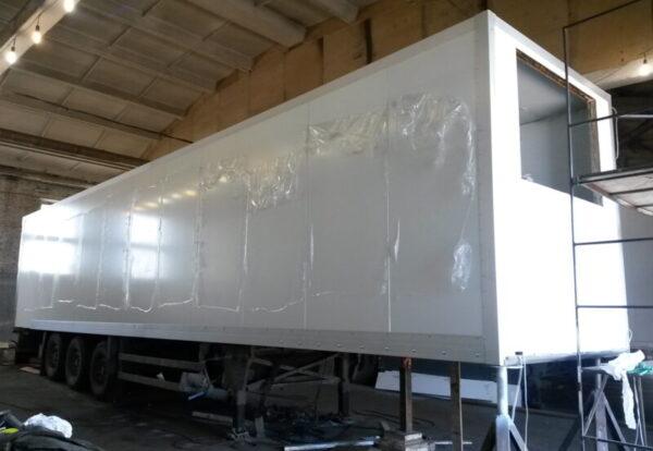 Изготовление фургона для полуприцепа Schmitz - Транс-Мороз 1