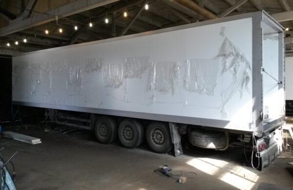 Изготовление фургона для полуприцепа Schmitz - Транс-Мороз 2