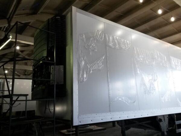 Изготовление фургона для полуприцепа Schmitz - Транс-Мороз 3