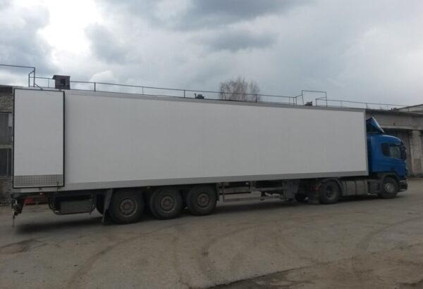 Изготовление фургона для полуприцепа Schmitz - Транс-Мороз 4