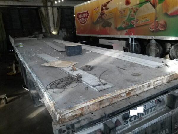 Изготовление фургона для полуприцепа Schmitz - Транс-Мороз
