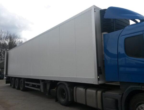 Изготовление фургона для полуприцепа Schmitz - Транс-Мороз 7