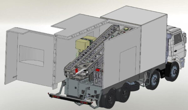 Фургоны автомобиля - досмотрового комплекса - Транс-Мороз 2
