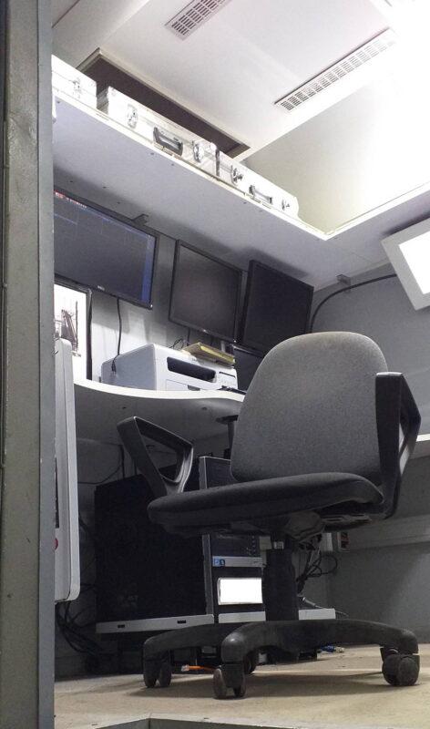 Фургоны автомобиля — досмотрового комплекса — Транс-Мороз 9