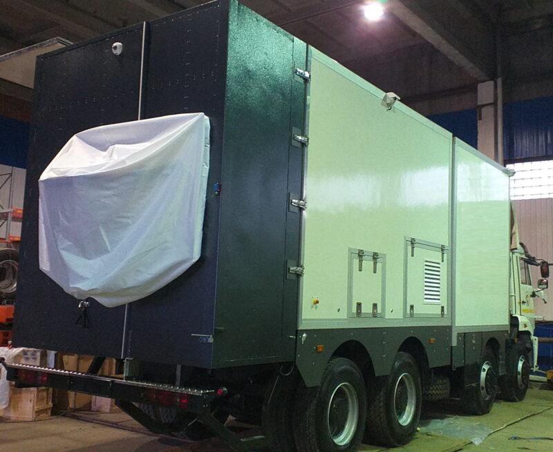 Фургоны автомобиля — досмотрового комплекса — Транс-Мороз 2