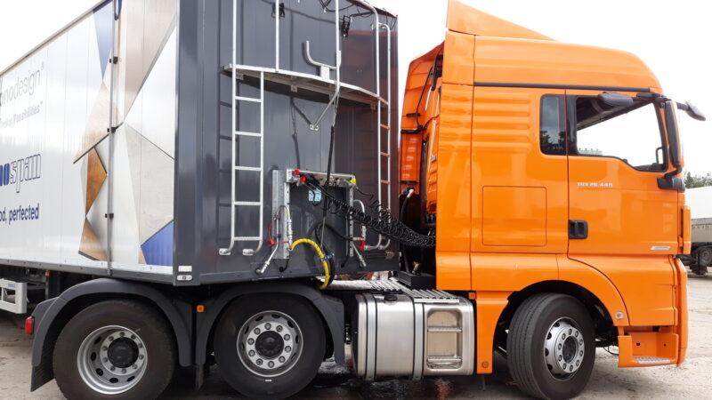 Гидрофикация седельных тягачей — Транс-Мороз 1