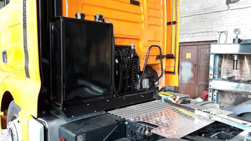 Гидрофикация седельных тягачей — Транс-Мороз