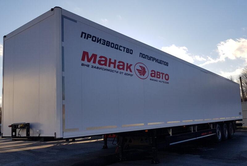 Изотермический полуприцеп Manac 3-х осный, 13,9м - Транс-Мороз