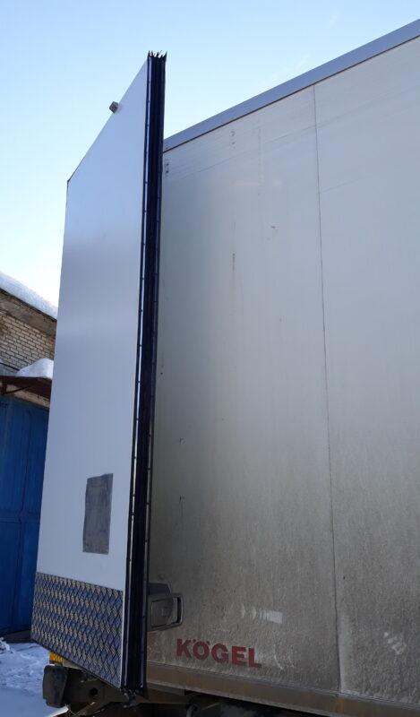 Ремонт дверей на фургоне — Транс-Мороз 1