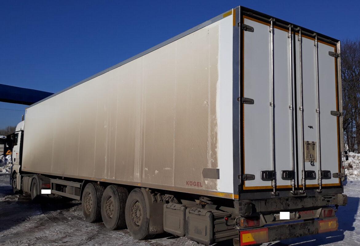 Ремонт дверей на фургоне — Транс-Мороз 2