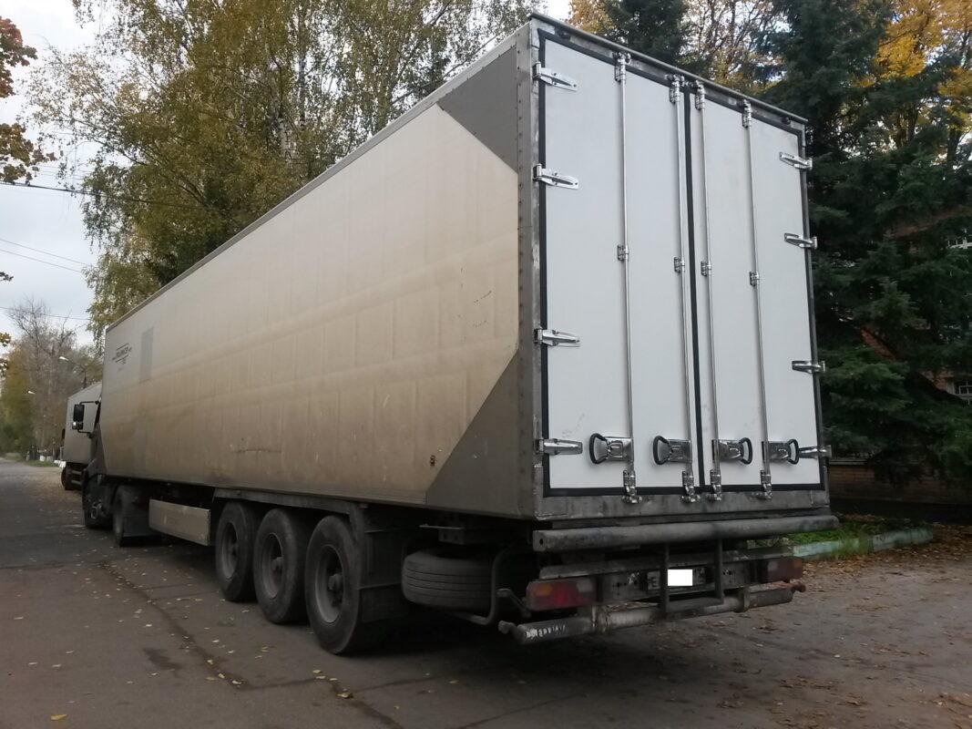 Ремонт дверей на фургоне — Транс-Мороз 4