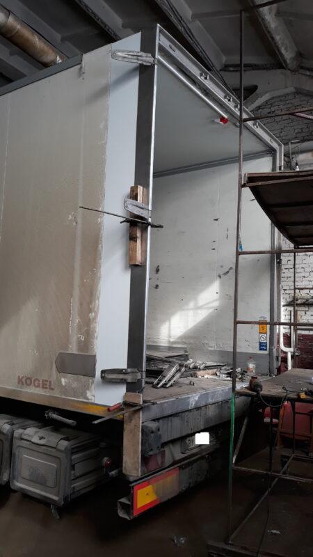 Ремонт дверей на фургоне — Транс-Мороз 8