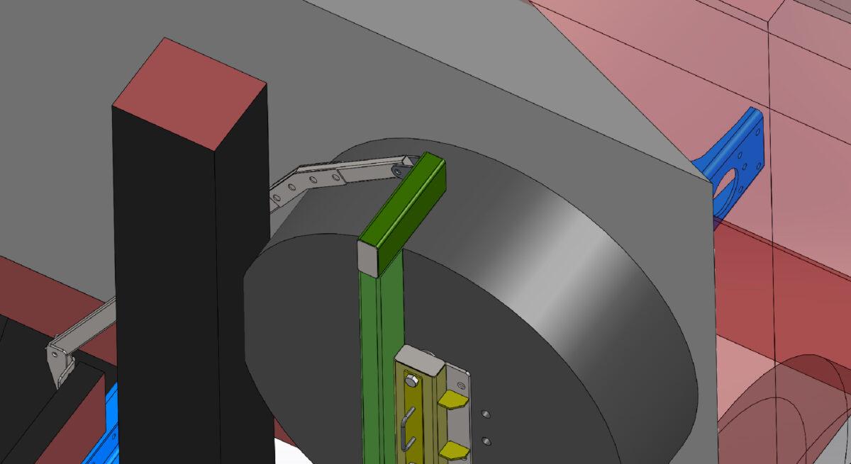 Изготовление и монтаж кронштейна запасного колеса для крюкового погрузчика — Транс-Мороз 4
