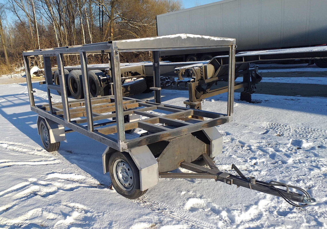 Изготовление прицепа-воздухонагревателя — Транс-Мороз 3