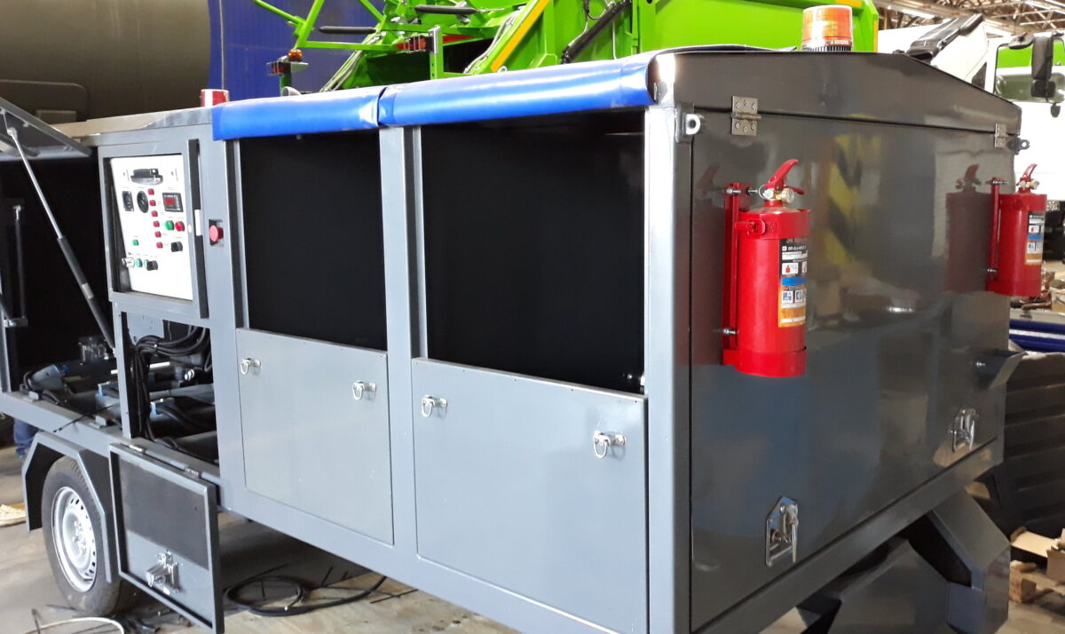 Изготовление прицепа-воздухонагревателя — Транс-Мороз 4