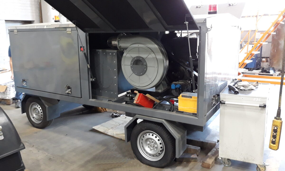 Изготовление прицепа-воздухонагревателя — Транс-Мороз 5