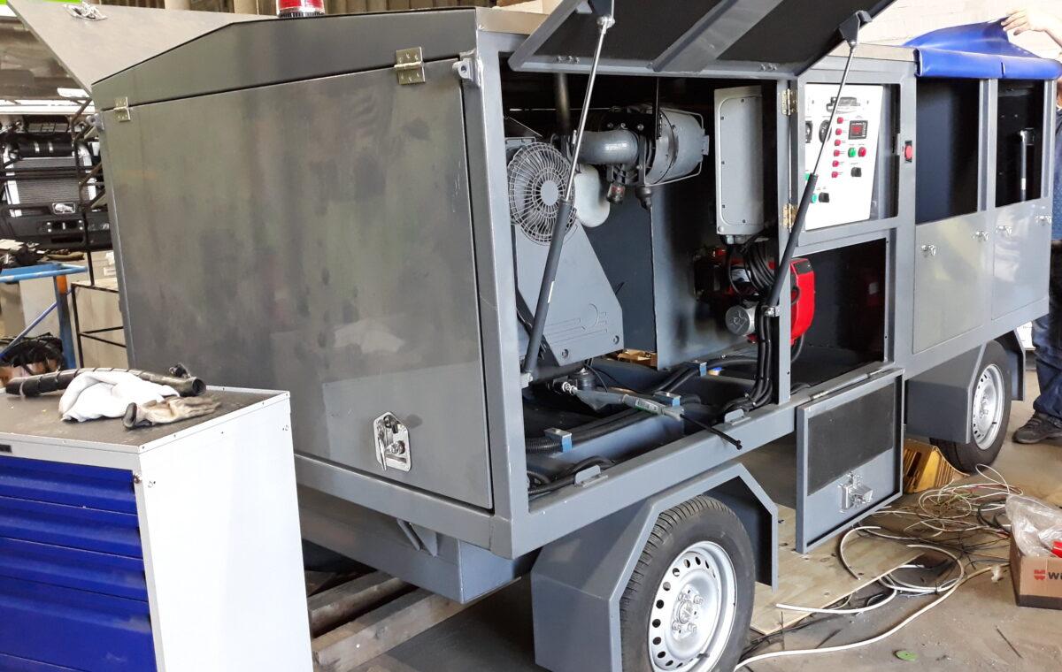 Изготовление прицепа-воздухонагревателя — Транс-Мороз 6