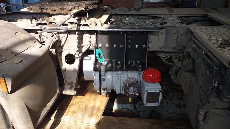 Кронштейны для монтажа компрессоров GHH RAND — Транс-Мороз 12