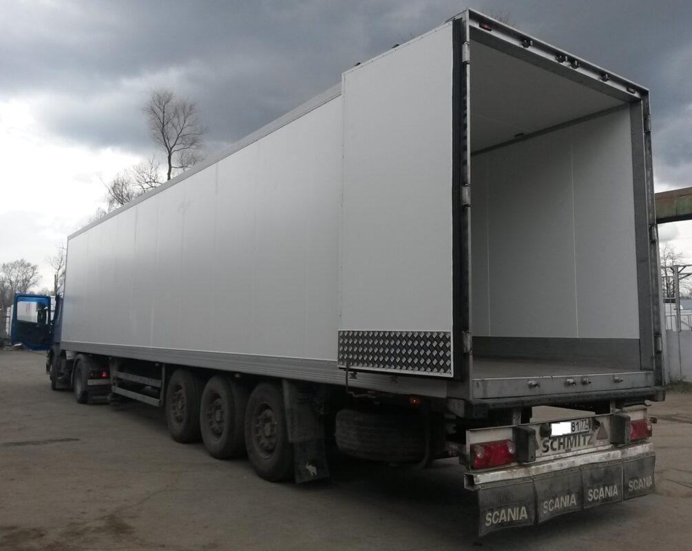 Фургон для грузового автомобиля или полуприцепа — Транс-Мороз 10
