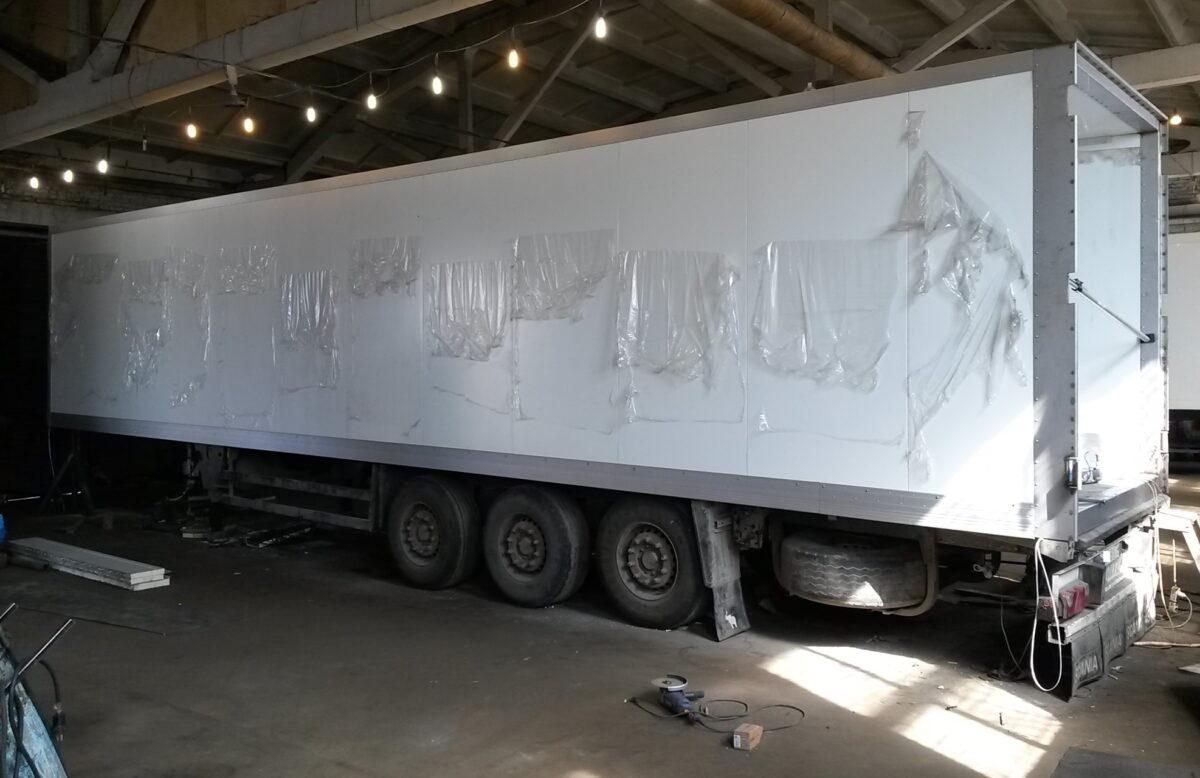 Фургон для грузового автомобиля или полуприцепа — Транс-Мороз 5