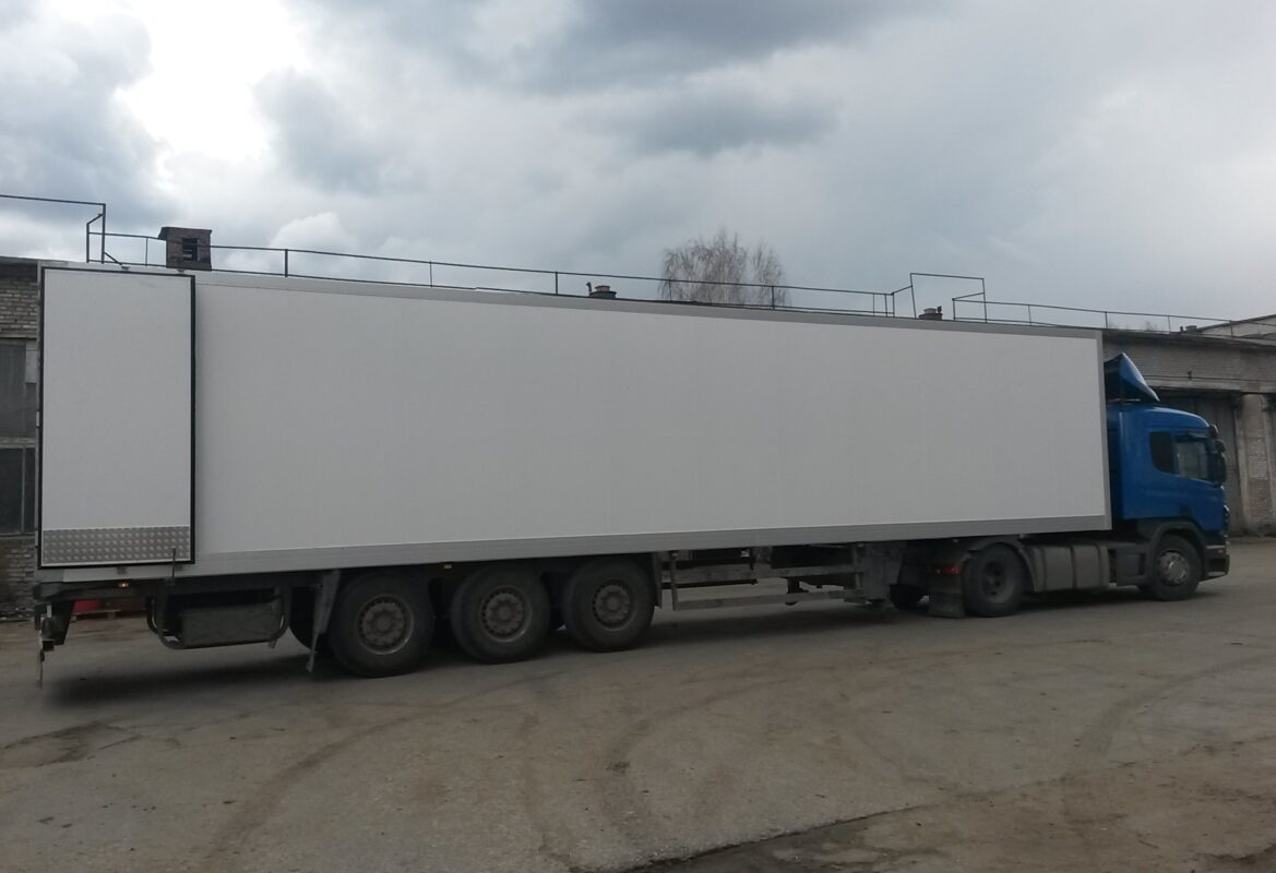 Фургон для грузового автомобиля или полуприцепа — Транс-Мороз 7