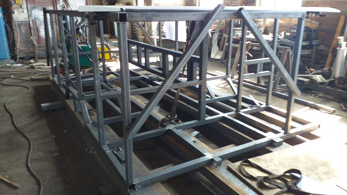 Изготовление металлоконструкций — Транс-Мороз 4
