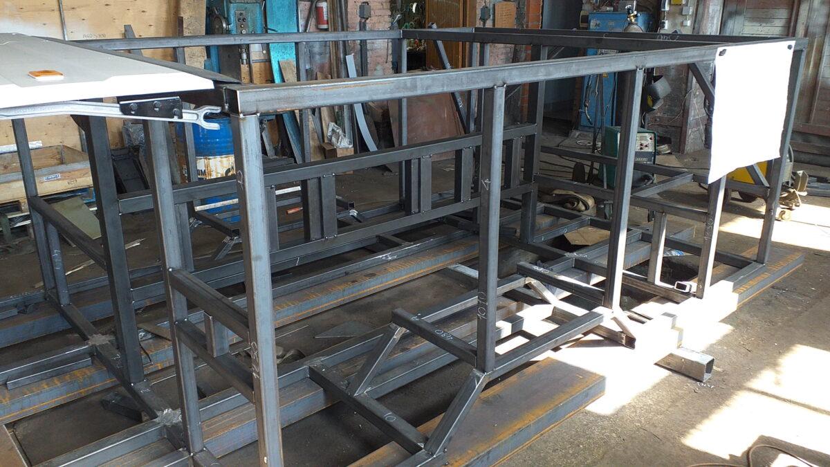 Изготовление металлоконструкций — Транс-Мороз 5