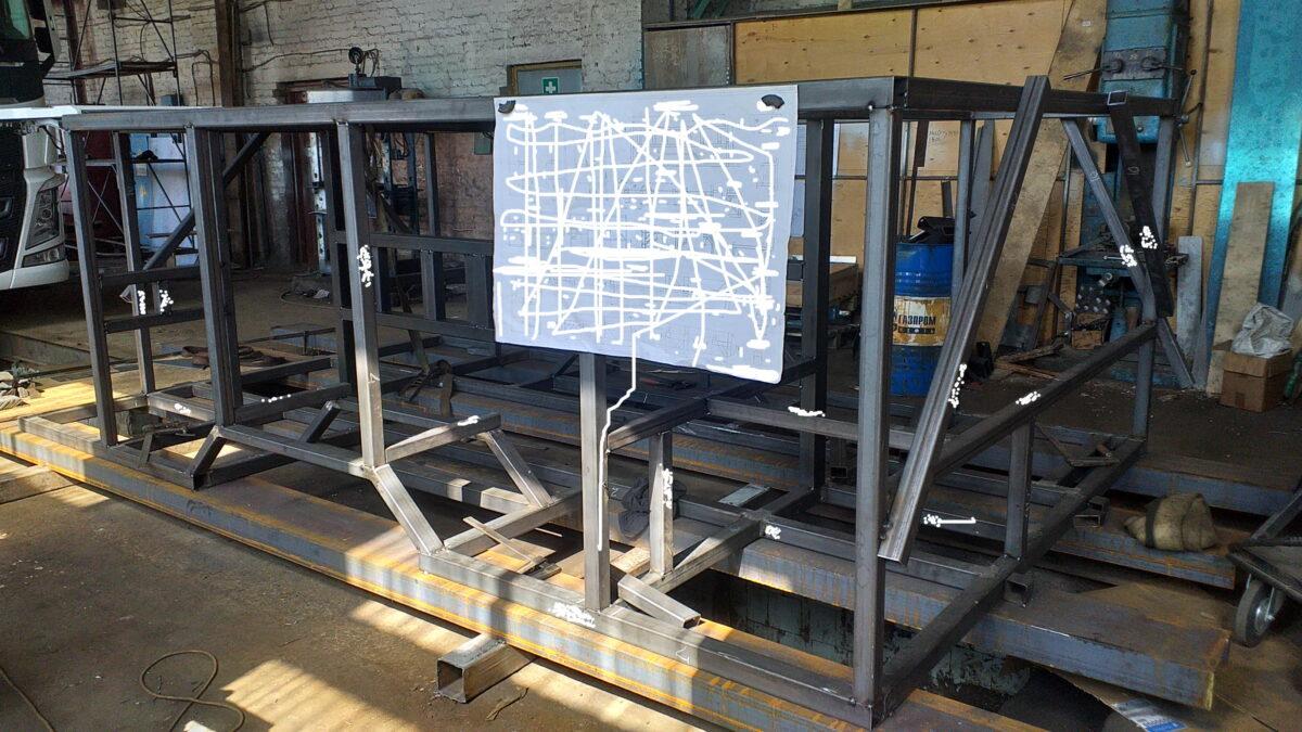 Изготовление металлоконструкций — Транс-Мороз 6