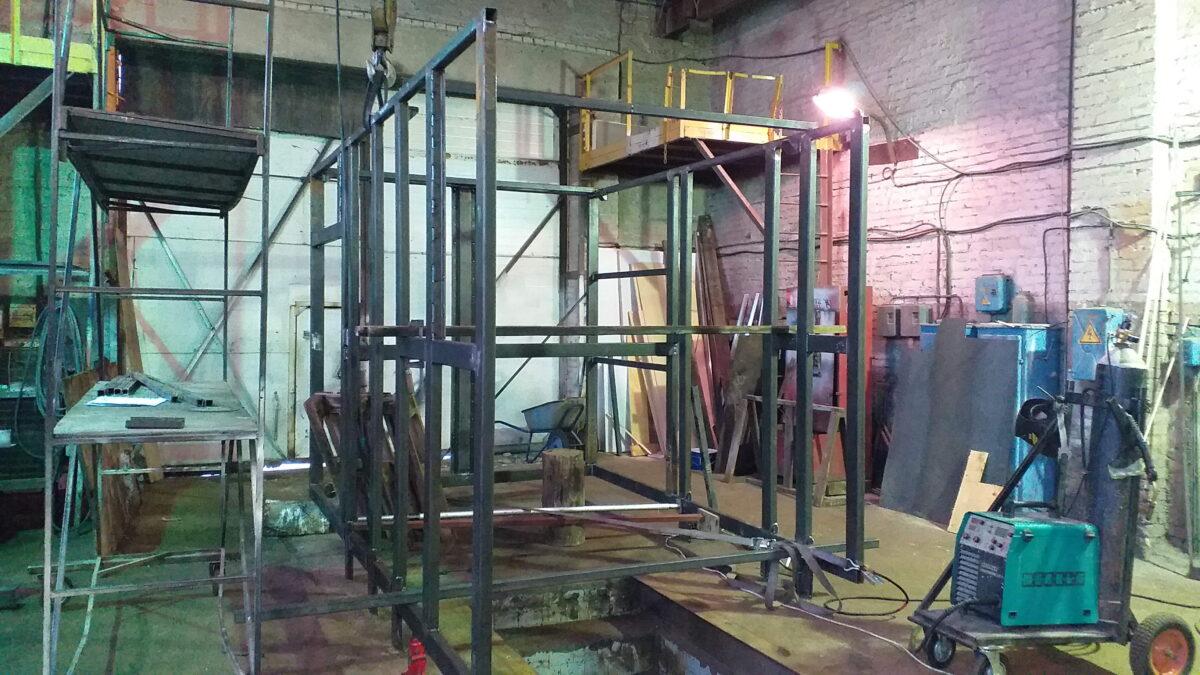 Изготовление металлоконструкций — Транс-Мороз