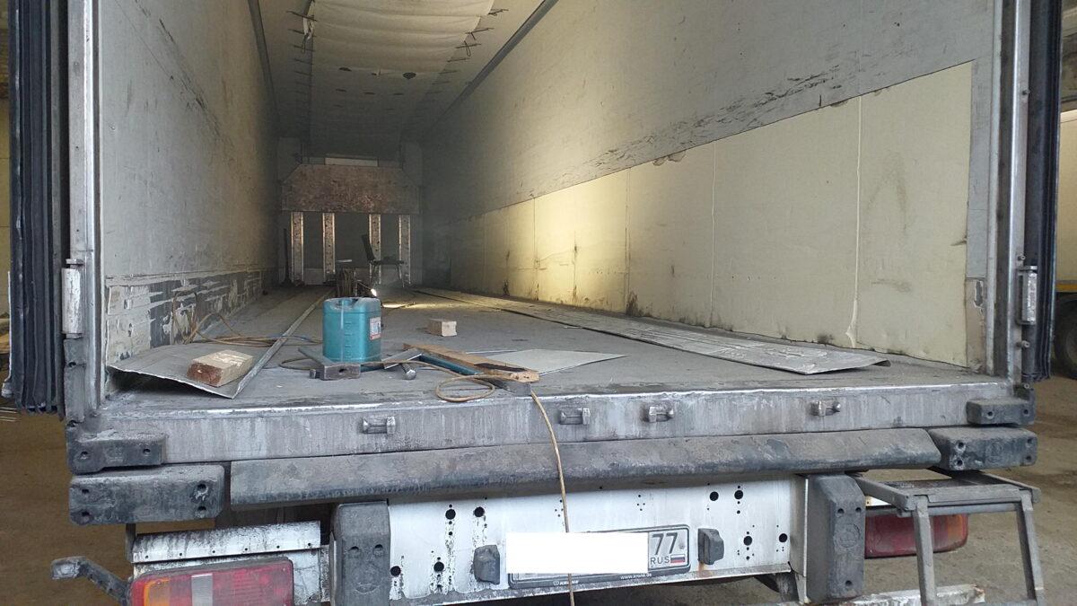 Ремонт внутренней поверхности боковых стен фургона — Транс-Мороз 2