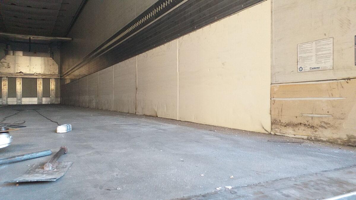 Ремонт внутренней поверхности боковых стен фургона — Транс-Мороз 3
