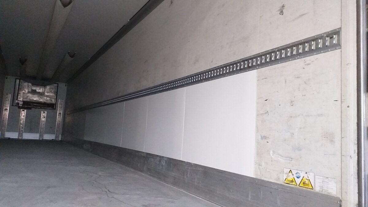 Ремонт внутренней поверхности боковых стен фургона — Транс-Мороз 6