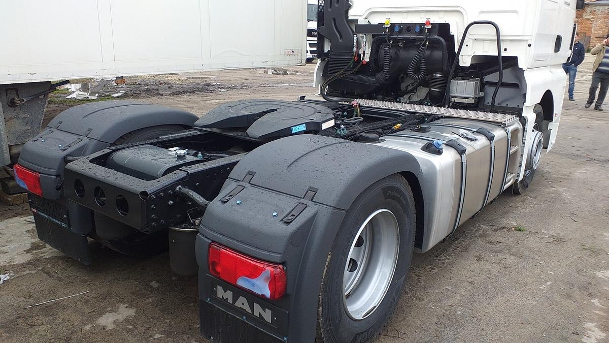 Гидрофикация седельных тягачей — Транс-Мороз 10