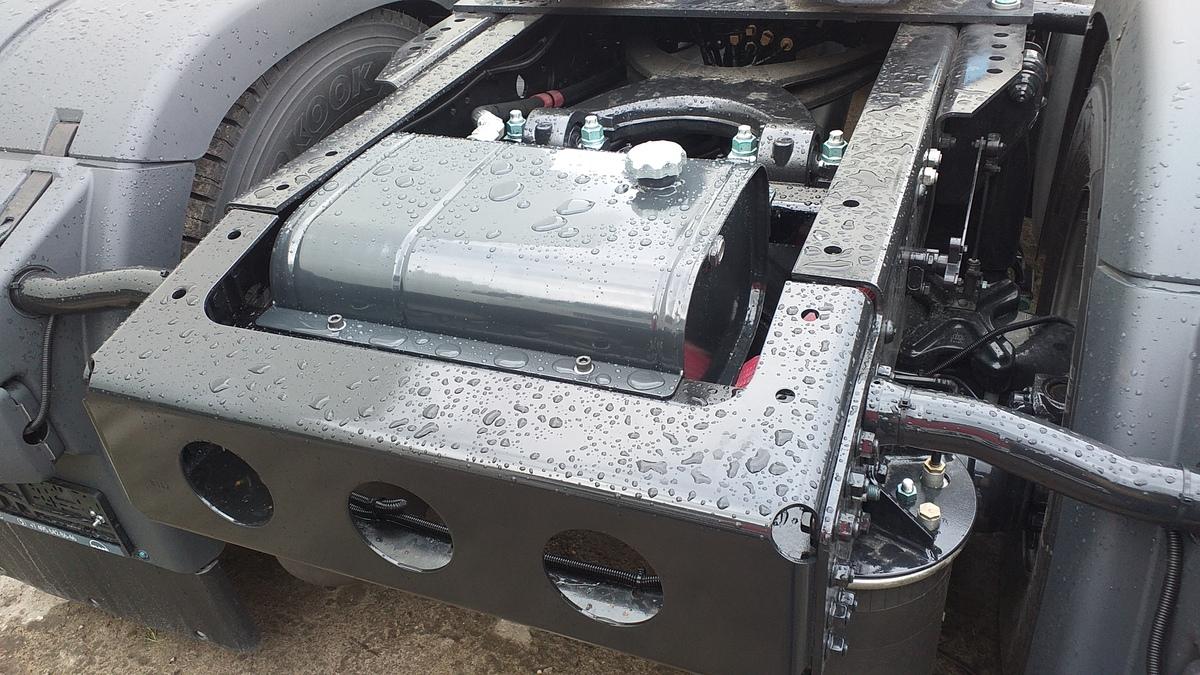 Гидрофикация седельных тягачей — Транс-Мороз 11