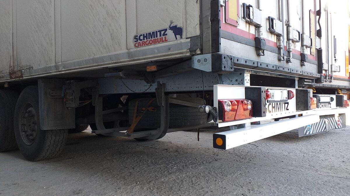 Замена заднего бруса и заднего свеса рамы полуприцепа Schmitz — Транс-Мороз 4