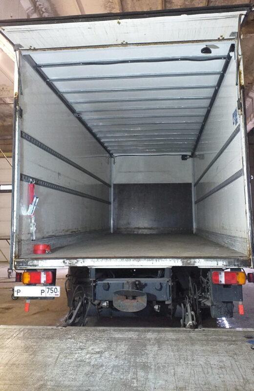 Замена крыши на промтоварном фургоне- Транс-Мороз 24