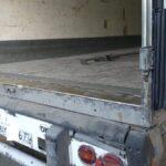 Ремонт порога пола фургона полуприцепа