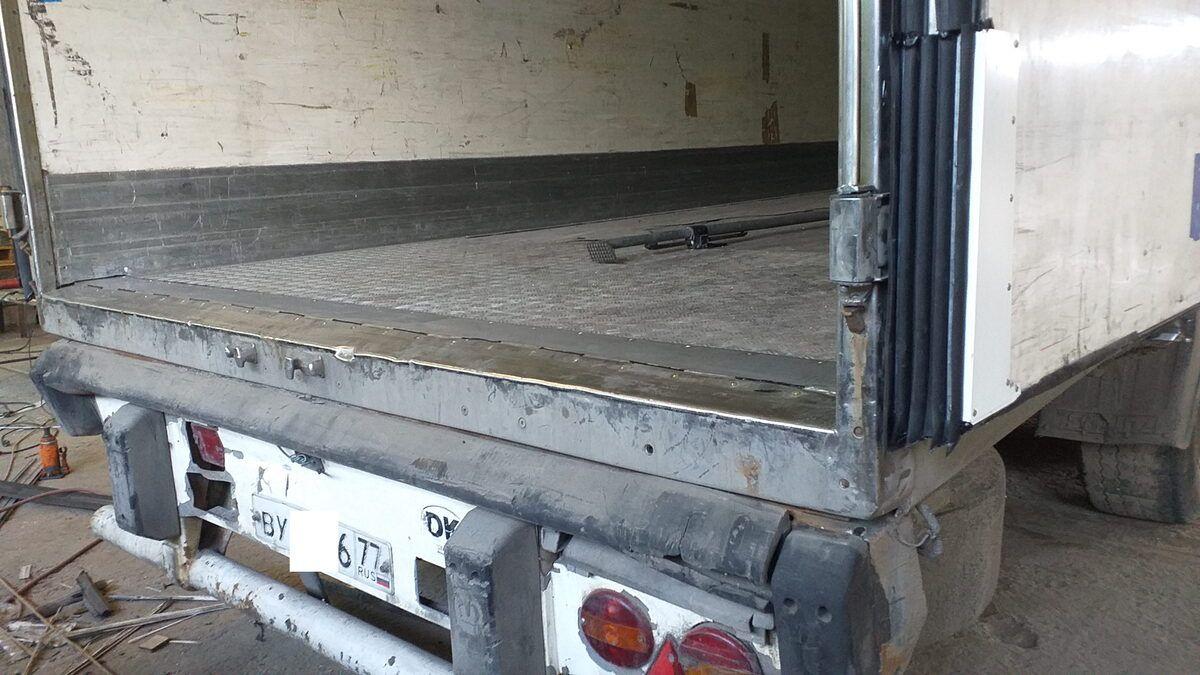 Ремонт порога пола фургона полуприцепа — Транс-Мороз 2