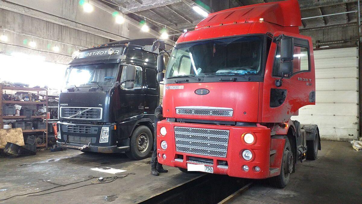 Ремонт и техническое обслуживание грузовых автомобилей Форд Карго (Ford Cargo) — Транс-Мороз 9