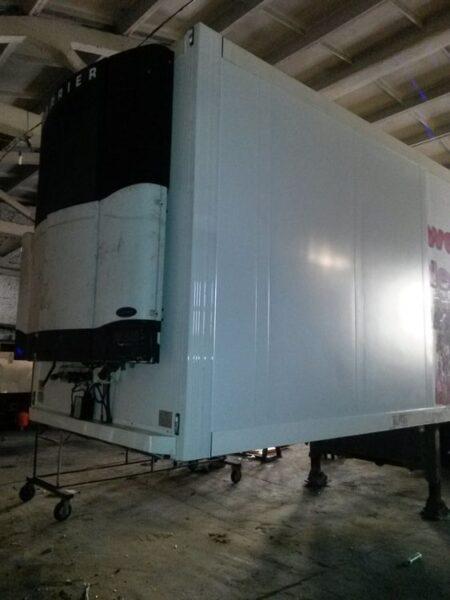 Ремонт передней части фургона полуприцепа-рефрижератора - Транс-Мороз 2