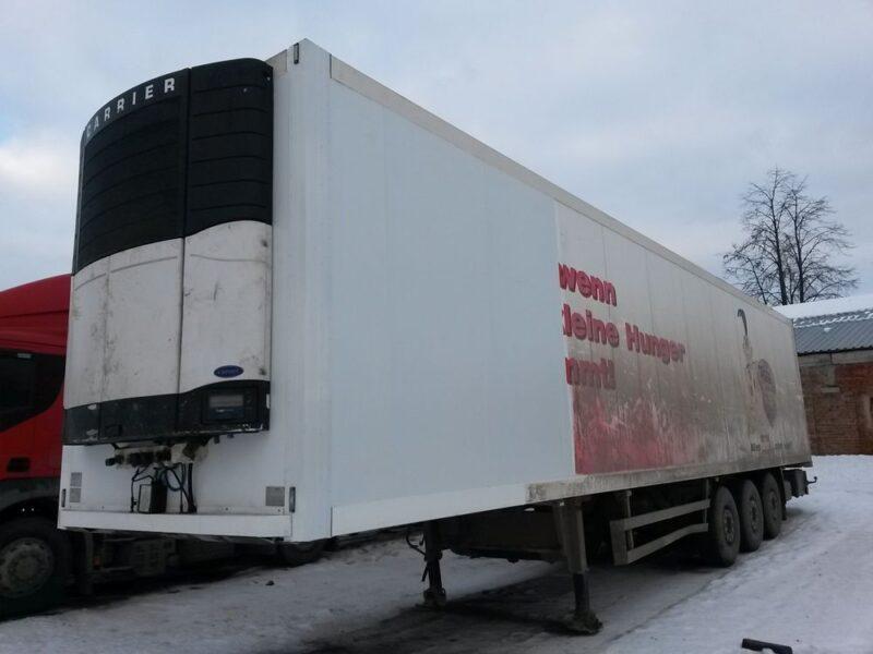 Ремонт передней части фургона полуприцепа-рефрижератора - Транс-Мороз