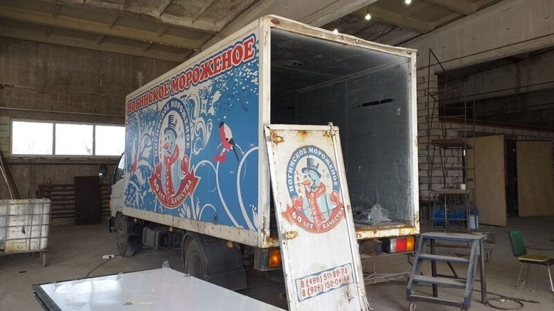 Изготовление и замена дверей фургона-рефрижератора - Транс-Мороз 13
