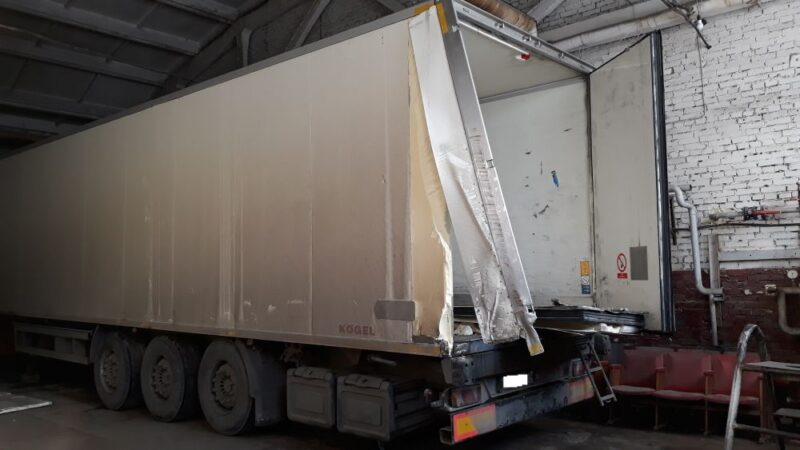 Изготовление и замена дверей фургона-рефрижератора - Транс-Мороз 7